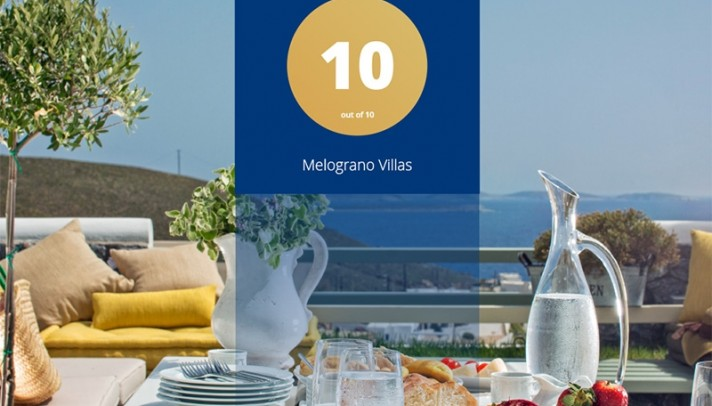 Melograno Villas: Guests rate them with 10/10