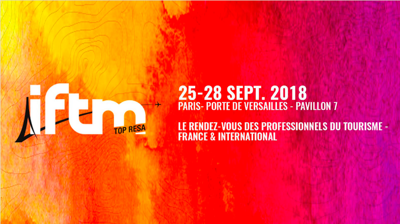 HIP Hospitality at the IFTM Top Resa 2018 to promote its hotels in the French market