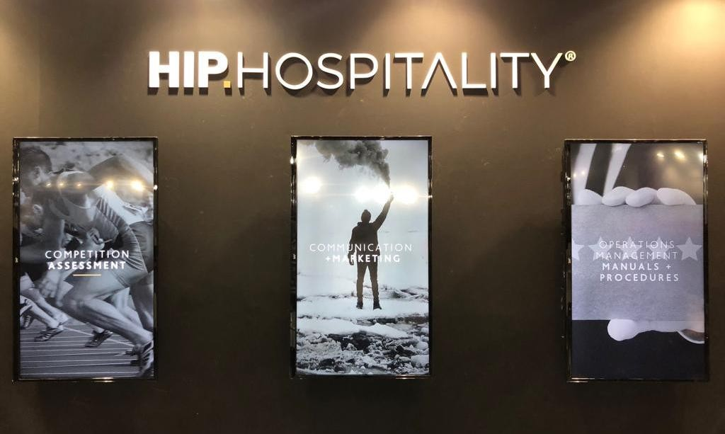 HIP Hospitality presented its hotel management services at 100% Hotel Show
